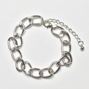 New Silver Chain Bracelet